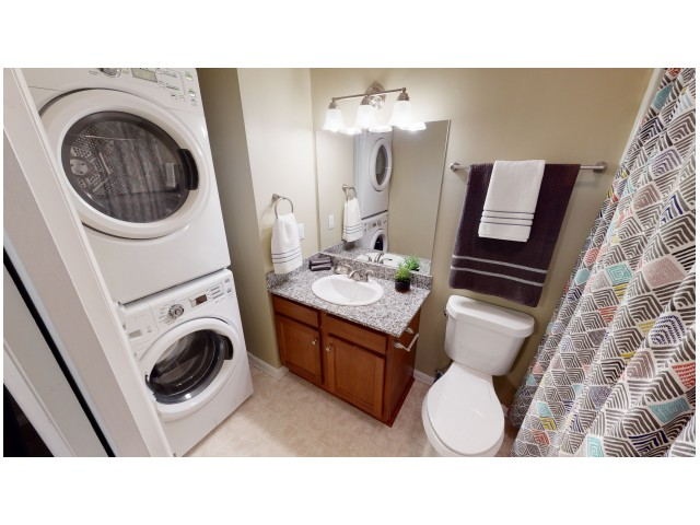 Washer and Dryer in Every Unit | Hawks Landing | Miami University Off Campus Apartments