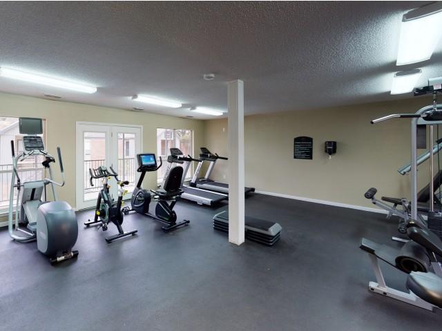 2-Story Resident Fitness Center | Raiders Walk | Student Apartments Lubbock