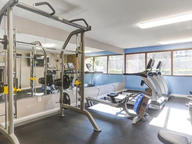 Resident Fitness Center | University Apartments - Chapel Hill | Chapel Hill NC Apartments