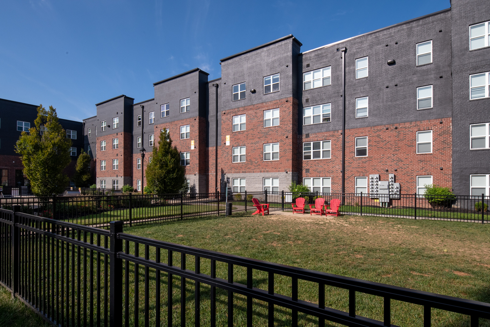 Dog Park at Trifecta Apartments | Student Apartments In Louisville KY
