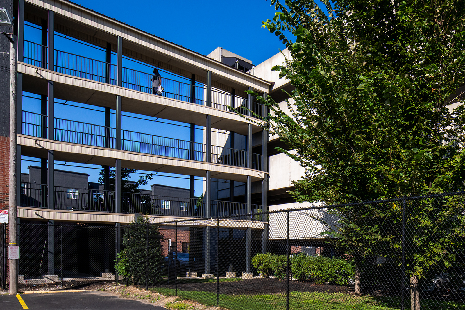 Private Parking Garage at Trifecta Apartments | Student Apartments In Louisville, KY.