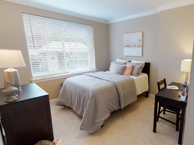 Luxurious Bedroom | University Apartments Durham | 1 & 2 Bedroom Apartments In Durham NC