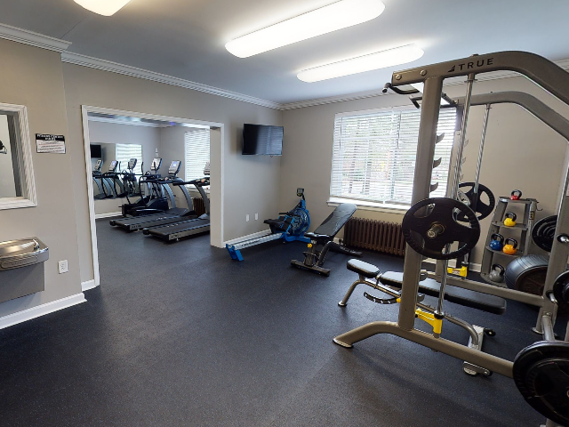 24-Hour Community Fitness Center | University Apartments Durham | Apartments In Durham NC