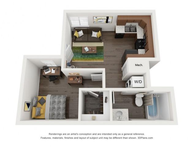 A1L | The Preserve at Tuscaloosa | Tuscaloosa Apartments