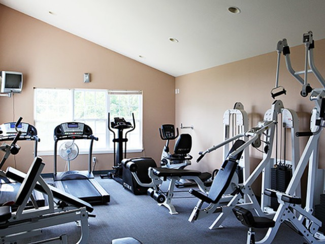 Fitness Room Workout Equipment Lakewood Village