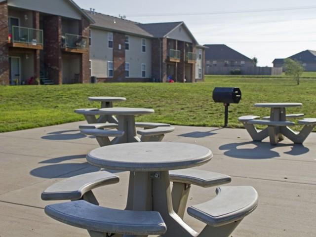 Republic Palms BBQ and picnic area