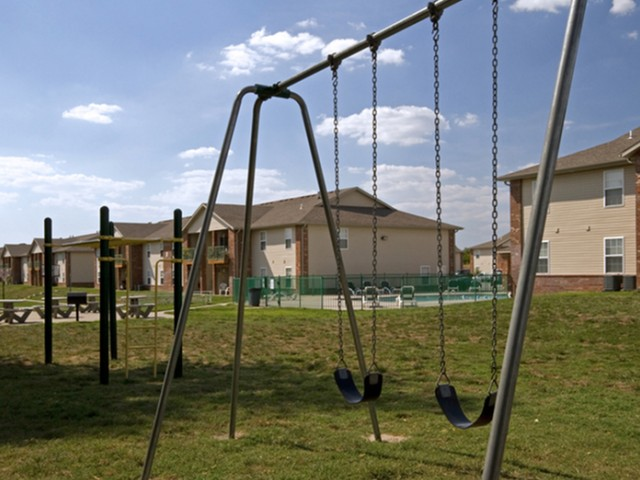 Republic Palms swingset and play ground