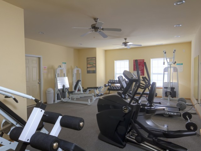 Plainview Park Fitness Room