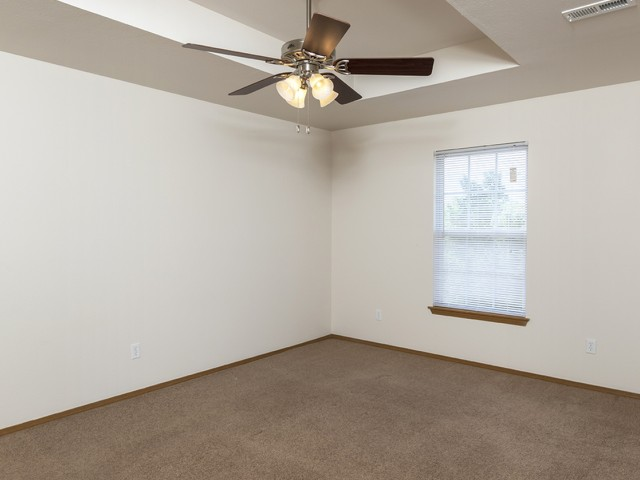 Lakewood Village Bedroom ceiling fan