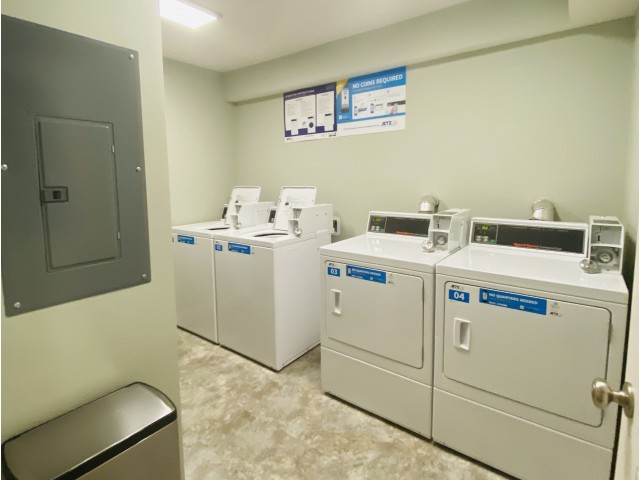 Scotsdale A building laundry room