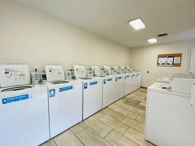 Polo Club Laundry Room