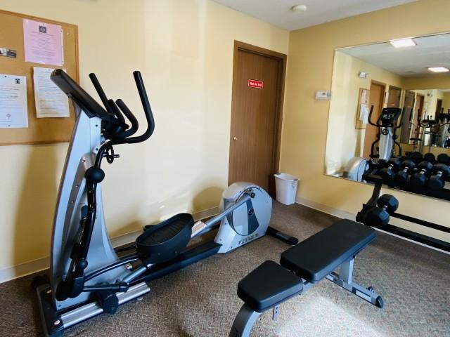 Polo Club Fitness Room