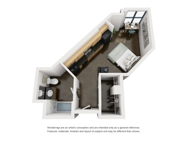 Franklin 3D Floorplan