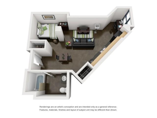 Garfield 3D Floorplan