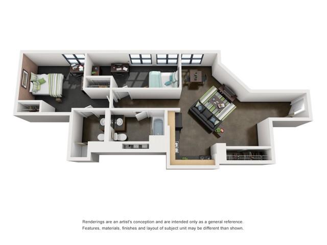 Washington 3D Floorplan