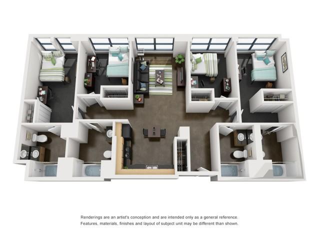 Madison 3D Floorplan