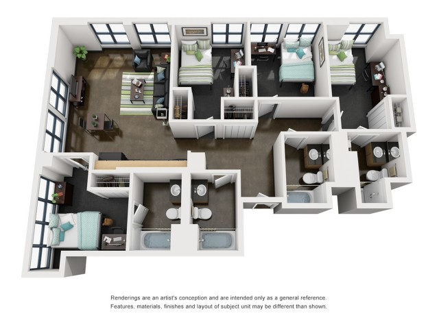 Taylor 3D Floorplan