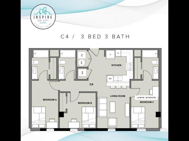 Three Bed Three Bath