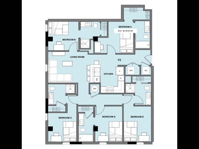 Five Bedroom, Five Bathroom