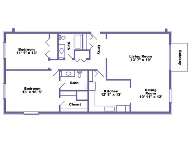 Bolingbroke floor plan 2D