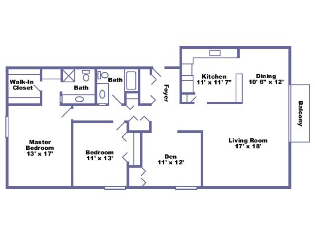 Henry floor plan 2D