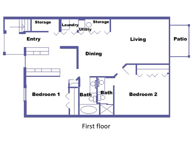 Hackenbush floor plan 2D