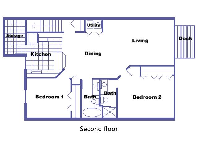 Dumont floor plan 2D