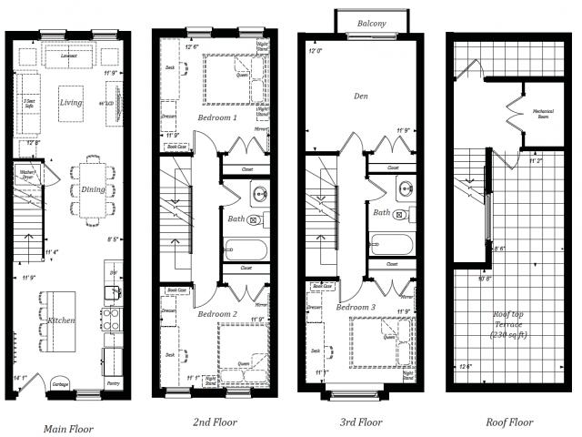 Upper Townhome Unit - Albert Terrace