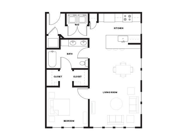 Foundry-1D Floorplan