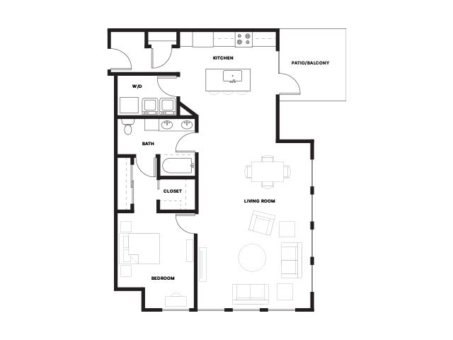 Foundry-1E Floorplan
