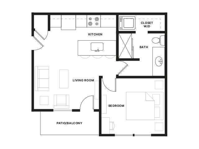Ironworks-1A Floorplan