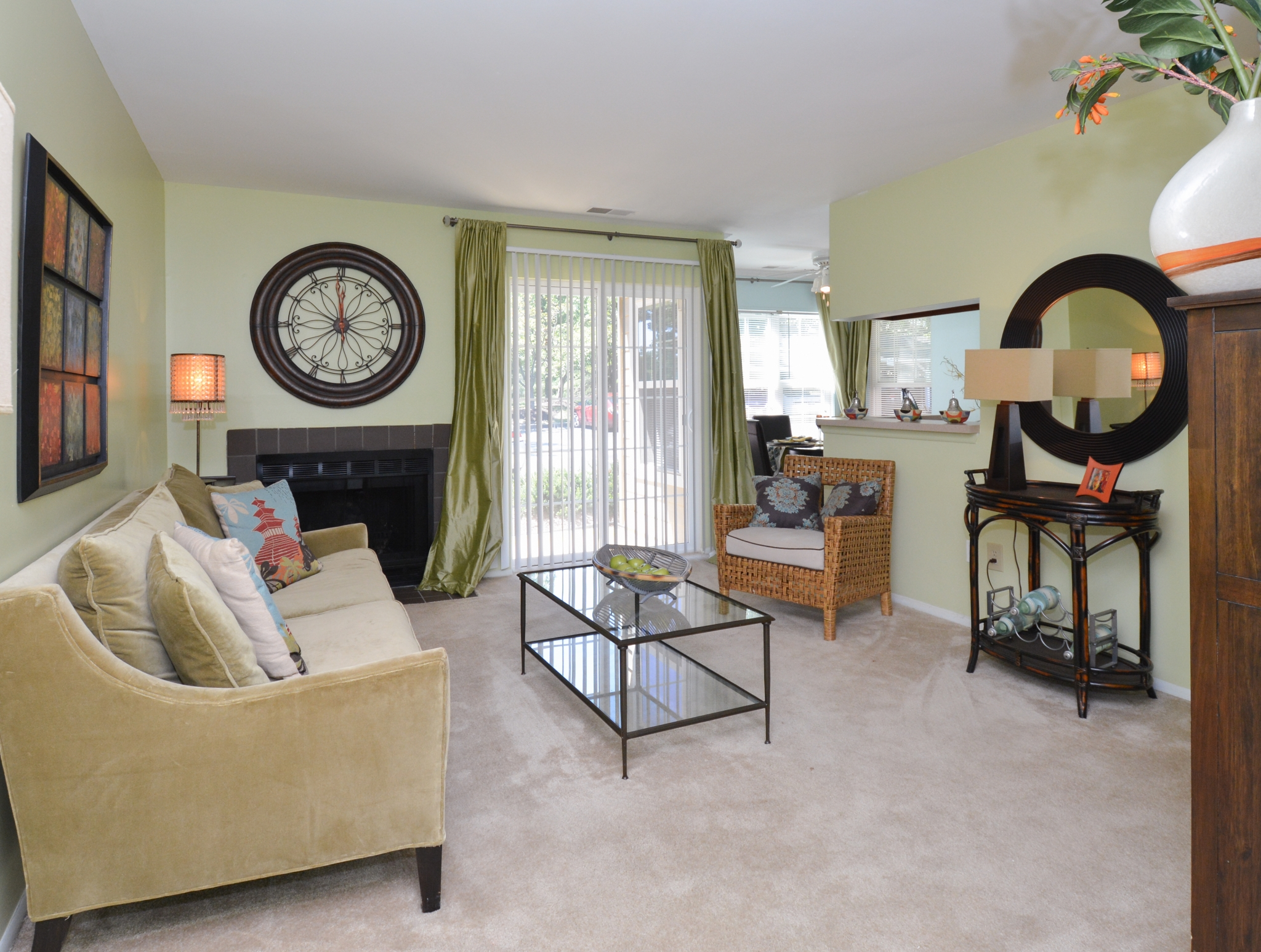 Luxurious Living Room | Apartment Homes in Laurel, MD | Spring House Apartments