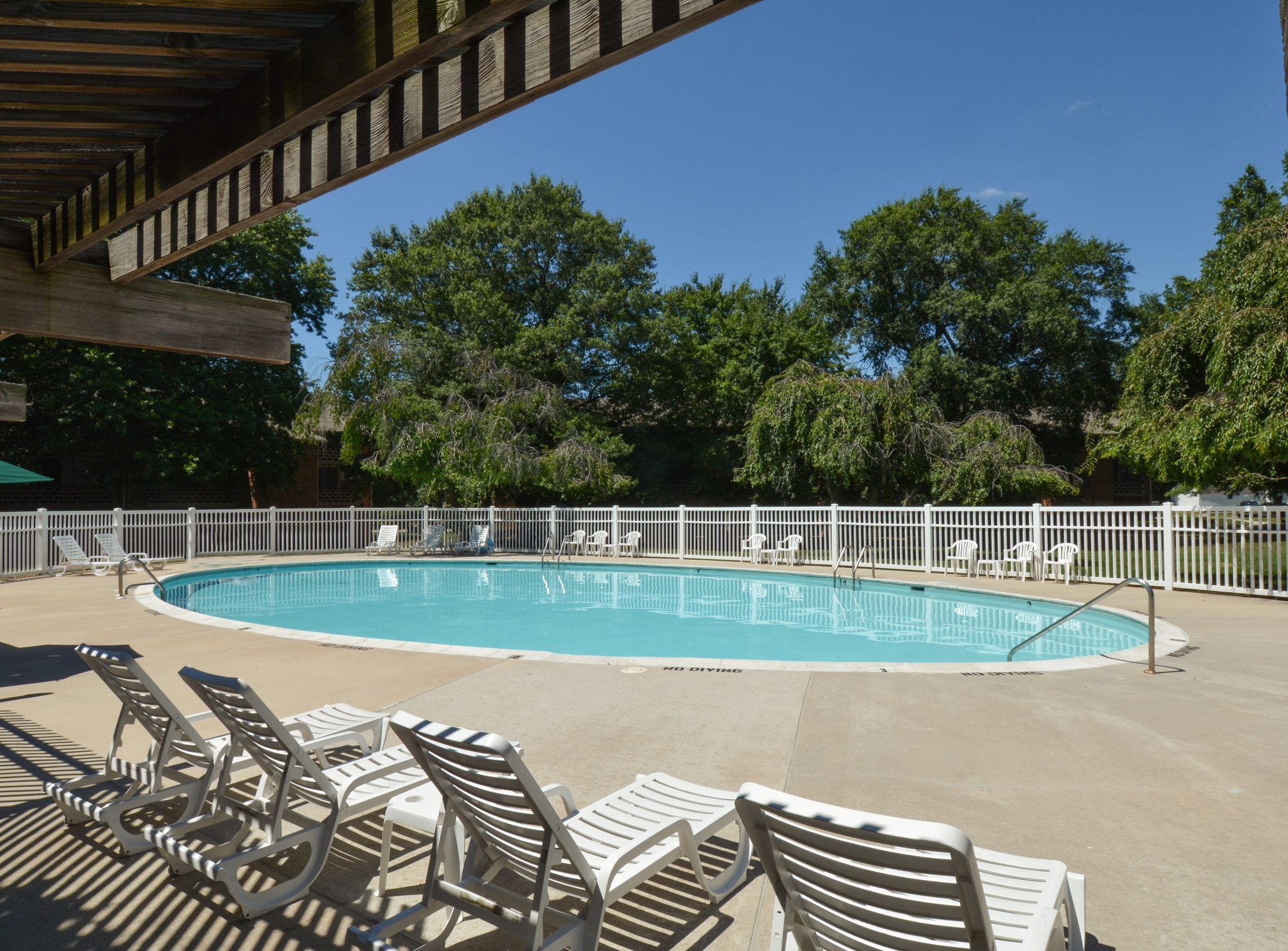 Sparkling Pool | Apartments for rent in Dover, DE | Lake Club Apartments