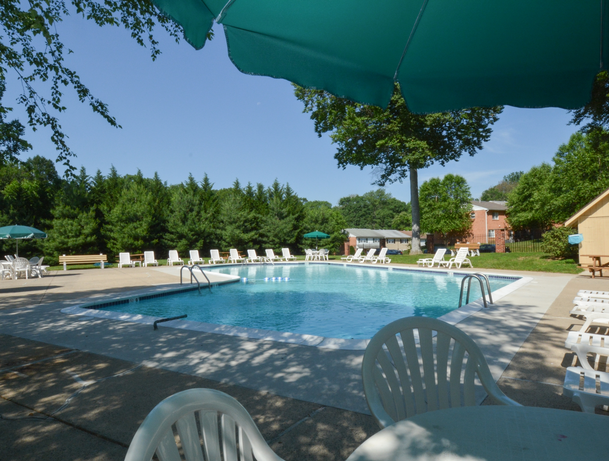 Year Round Swimming Pool | Apartments For Rent In Boothwyn PA | Rolling Glen Townhomes and Apartments