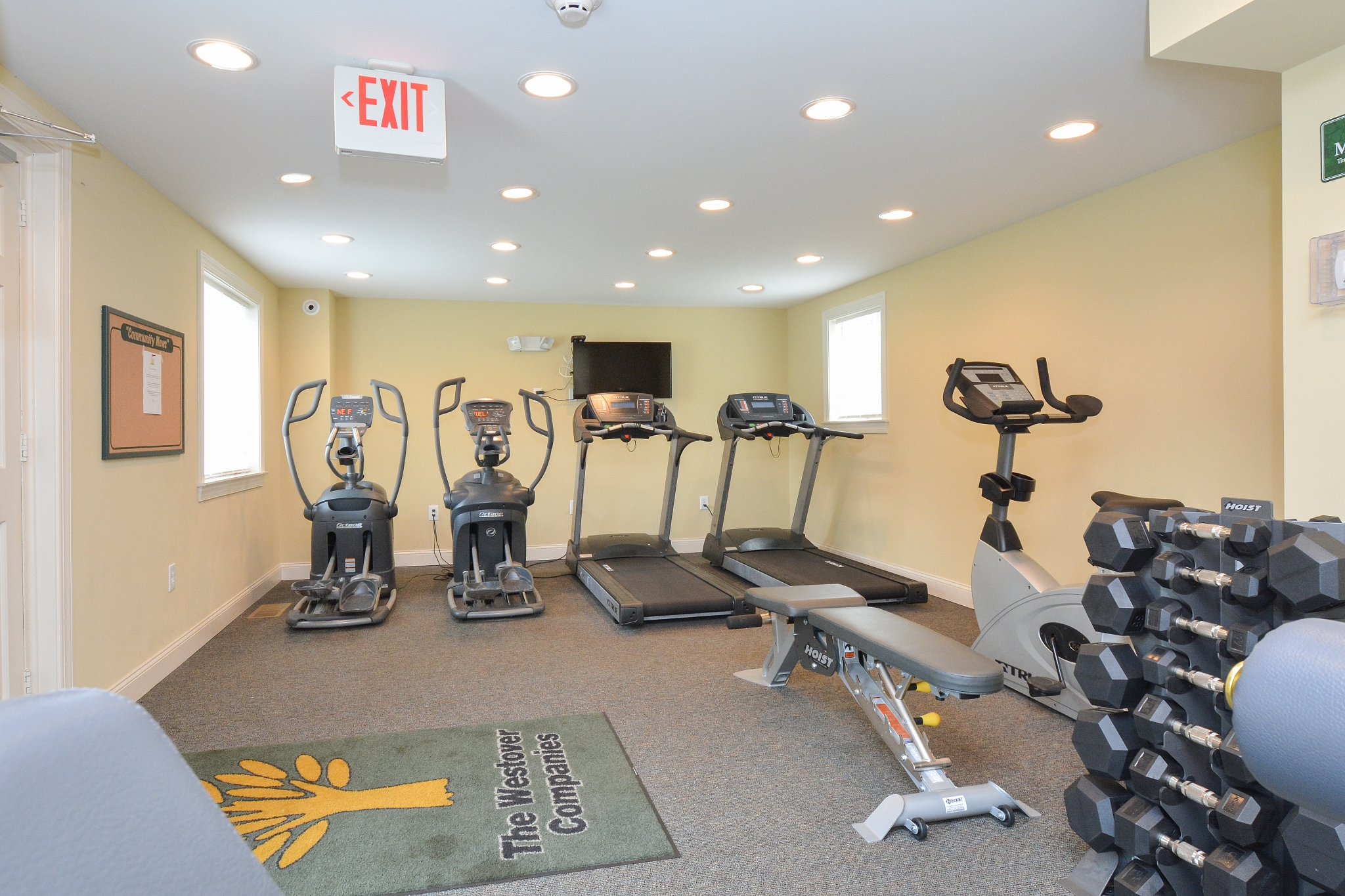 Community Fitness Center | Apartment in Wilmington, DE | Greenville on 141 Apartments  Townhomes