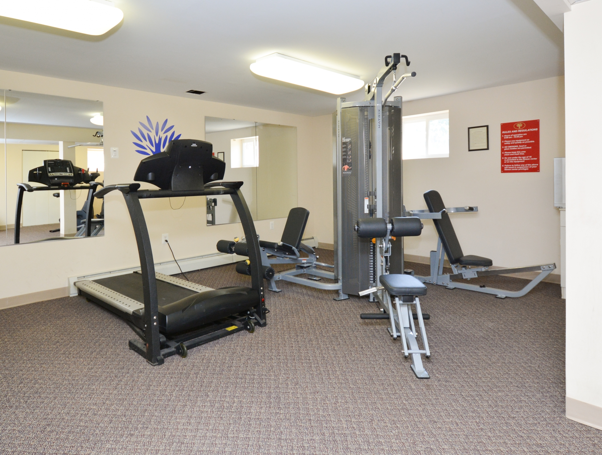Resident Fitness Center | Apartments Phoenixville, PA | Knollwood Apartments