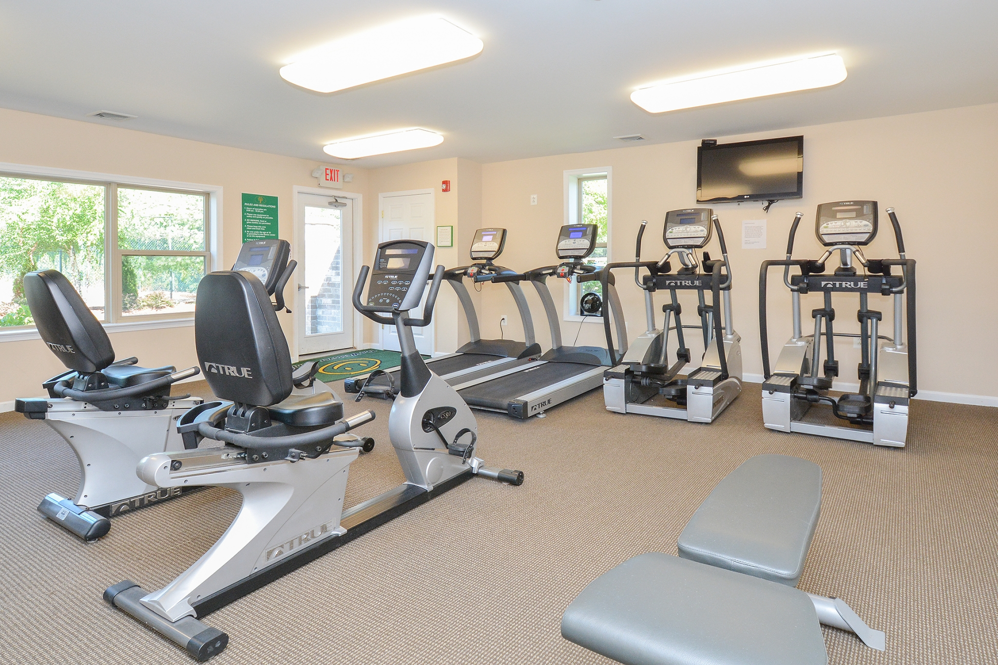 Resident Fitness Center | Apartments Near Neshaminy PA | Summit Trace Apartments
