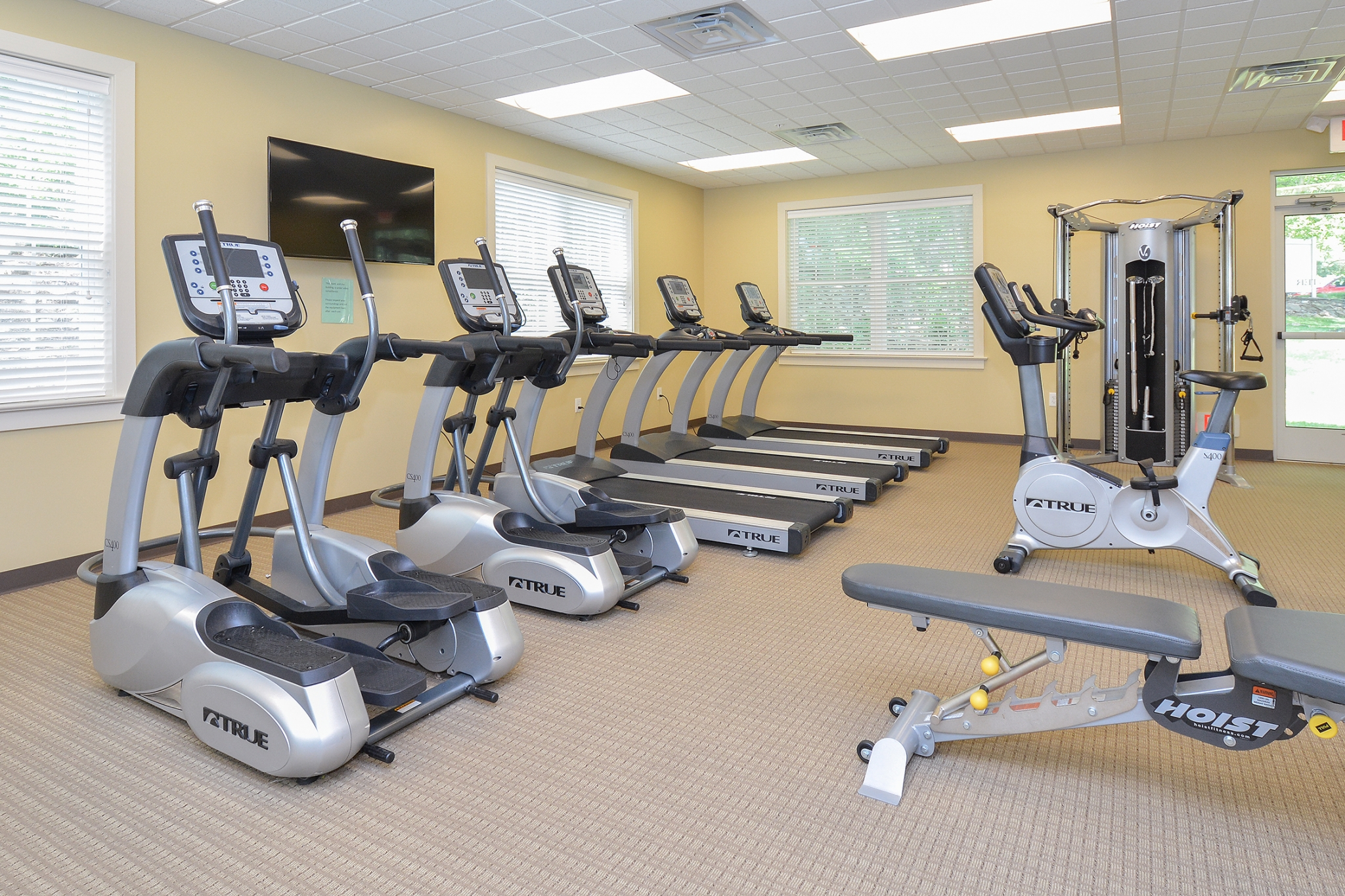 The Lafayette at Valley Forge Fitness Center with Cardio Machines | King of Prussia Apartment Rentals