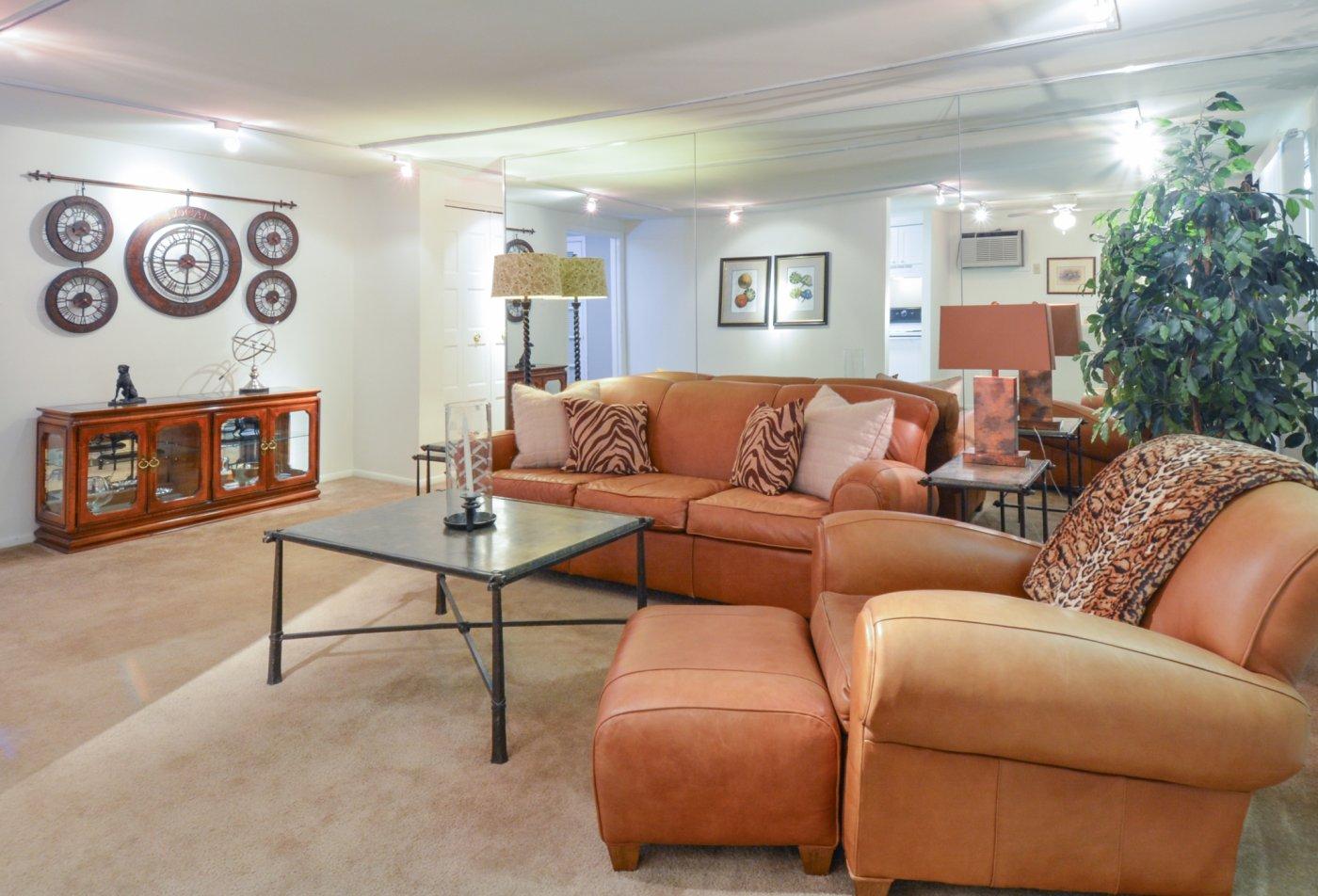 Elegant Living Room | Apartments for rent in Secane, PA | Bishop Hill Apartments