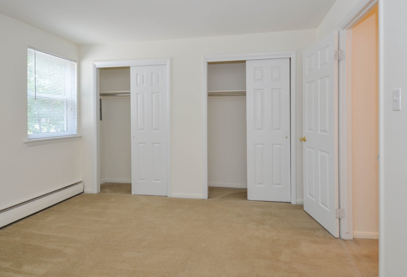 Spacious Master Bedroom | Apartments Homes for rent in Aston, PA | Concord Court Apartments
