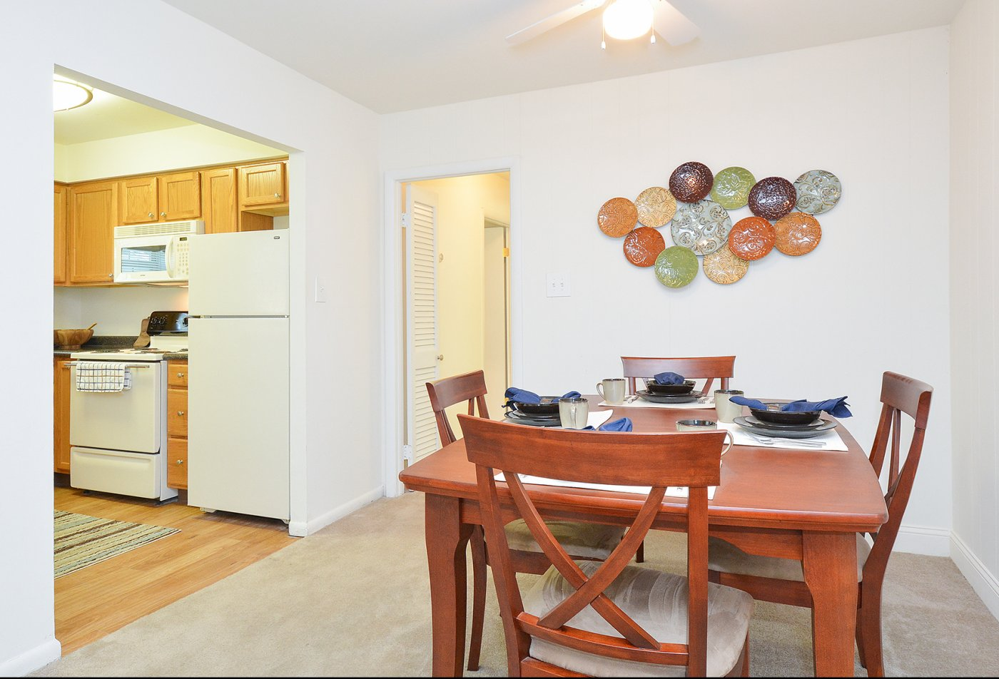 Spacious Dining Room | Apartment in Claymont, DE | Naamans Village Apartments