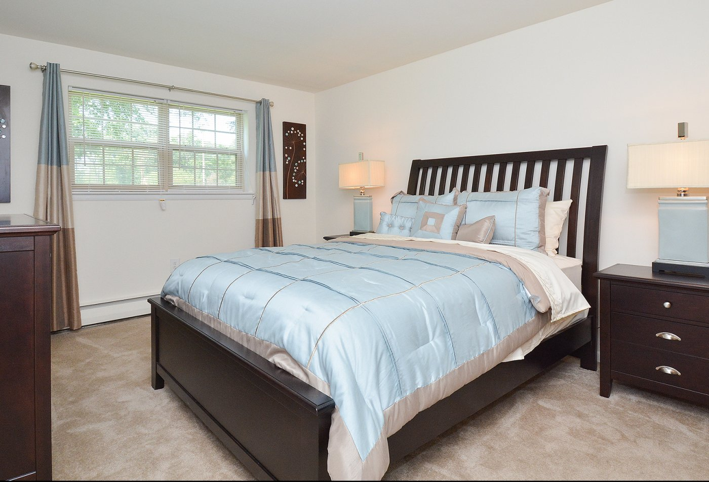 Spacious Master Bedroom | Apartments Homes for rent in Claymont, DE | Naamans Village Apartments