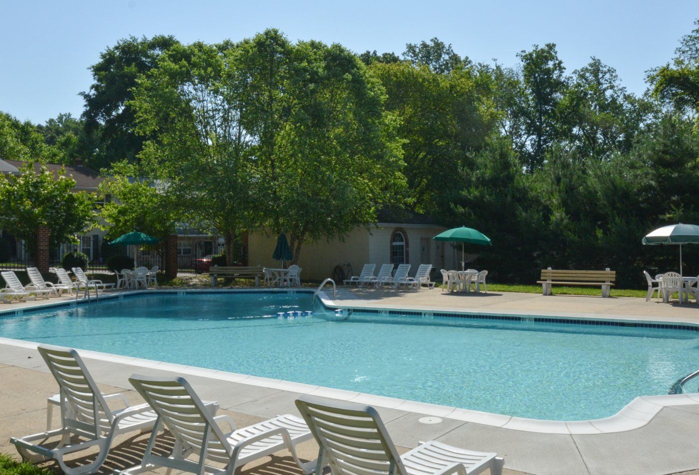 Swimming Pool | Apartment Homes in Boothwyn, PA | Rolling Glen Townhomes and Apartments