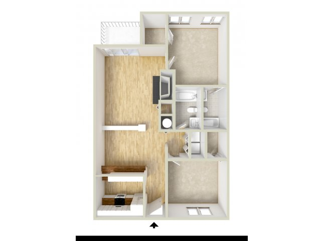 48 Bed 48 Bath Apartment In Baltimore MD Waterloo Place Apartments Amazing 4 Bedroom Apartments In Maryland Plans