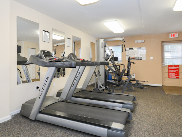 Community Fitness Center | Apartment in Media, PA | Rosetree Crossing Apartments
