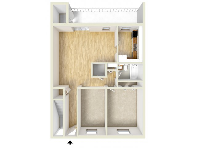 one bedroom with den. for the One Bedroom Den floor plan  1 Bed Bath Apartment in Norristown PA Westover Village