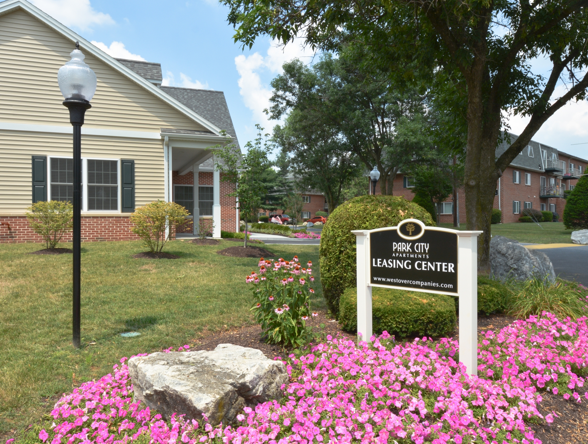 Park City Leasing Center Entrance | Apartment Complexes In Lancaster PA