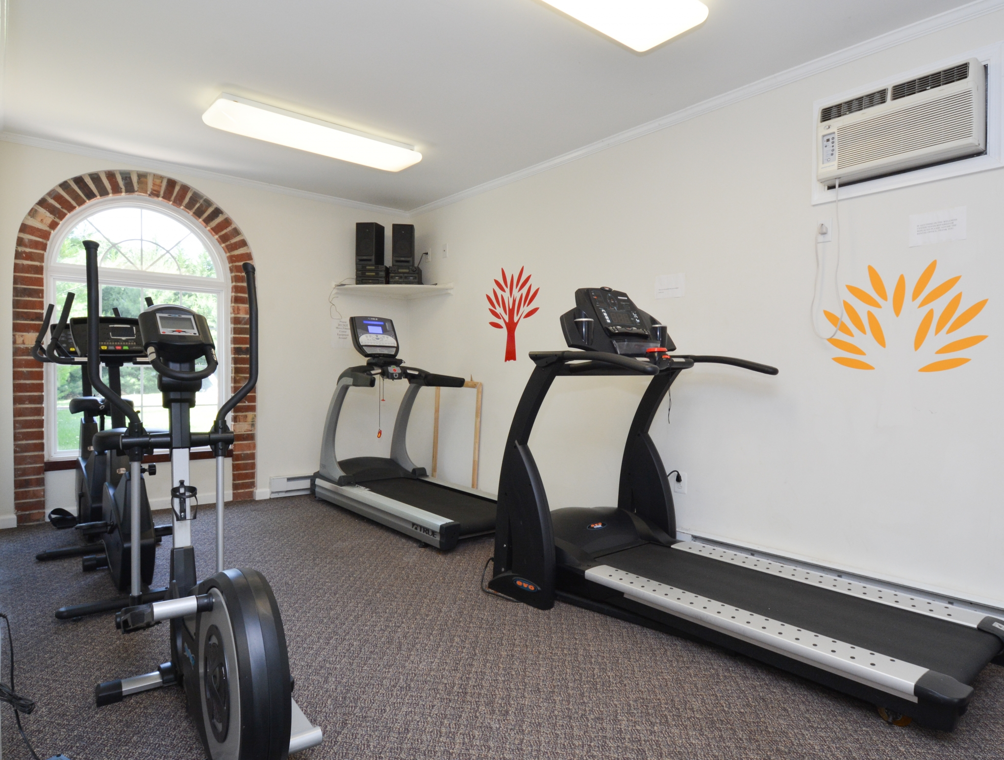 Resident Fitness Center | Apartments Near Chester Township | Rolling Glen Townhomes and Apartments