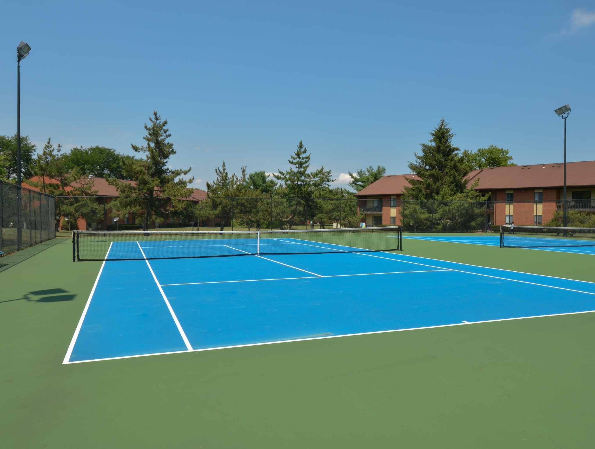 Princeton Orchards Tennis Court | Apartments for Rent in South Brunswick, NJ