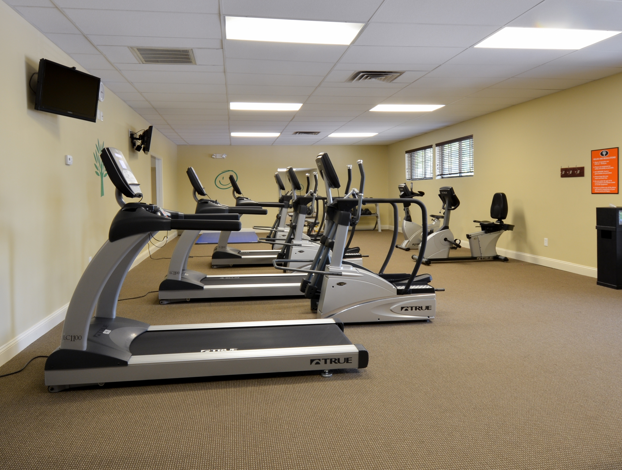 Princeton Orchards Fitness Center with Cardio Machines | Apartments for Rent in South Brunswick, NJ